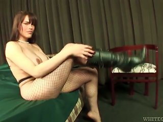 Tranny In Bodystockings Fucks A Guy And Rides His Dick